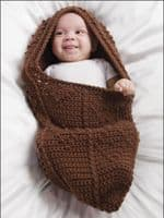 Cuddle Cocoons Baby Crochet Book AA 871046 DISCONTINUED